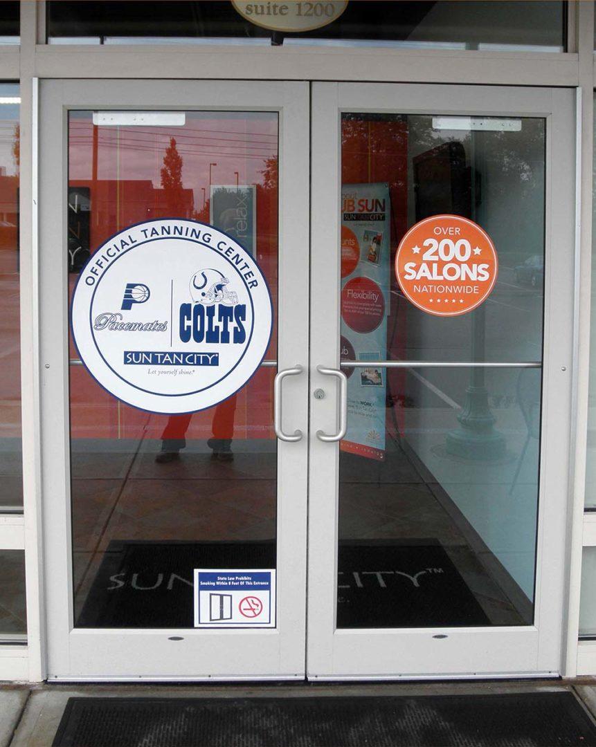 custom commercial storefront door system