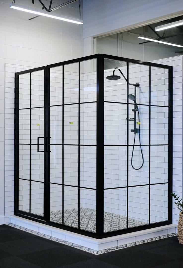 Industrial Shower Doors