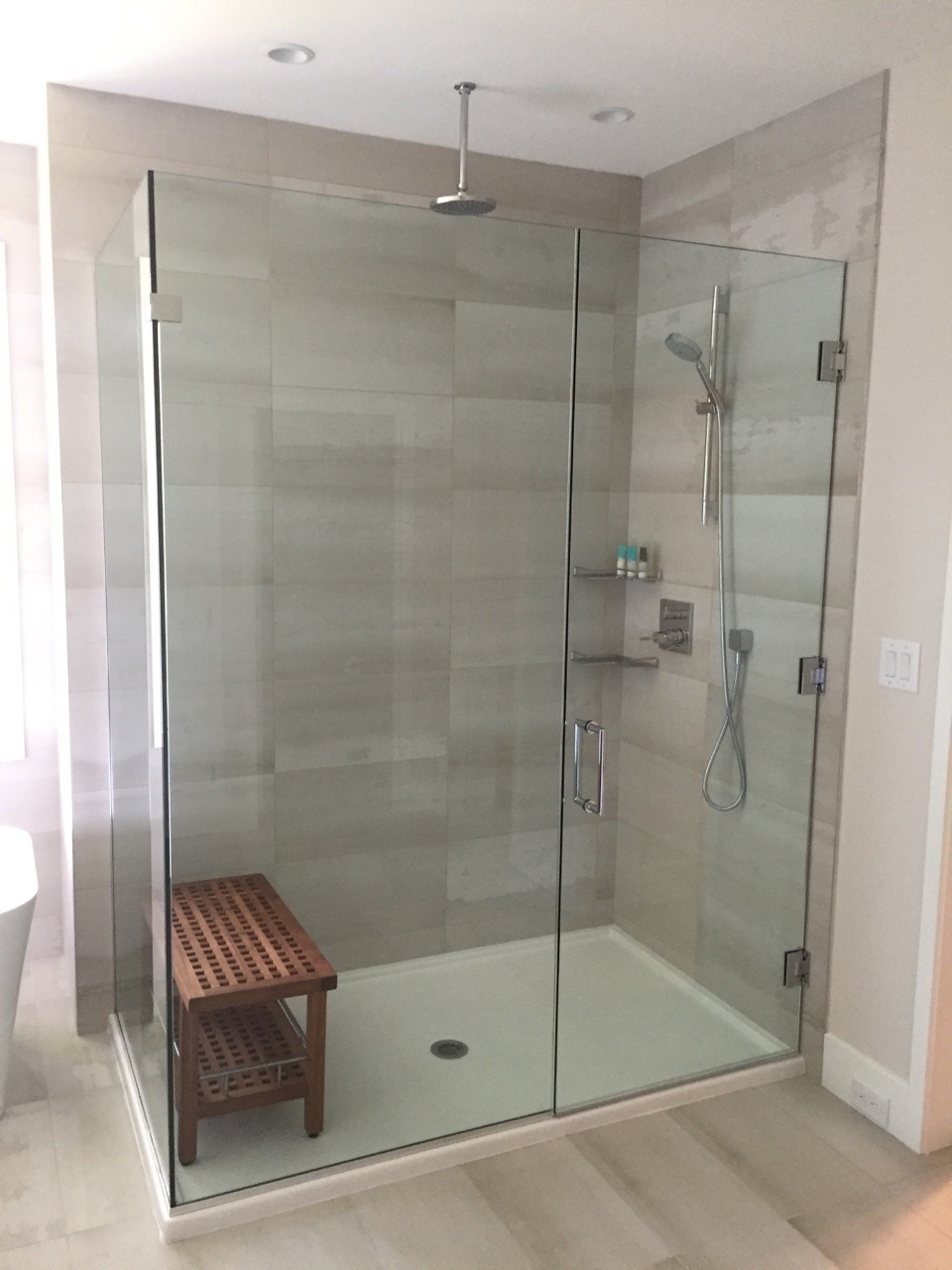 Shower Door Panel Return